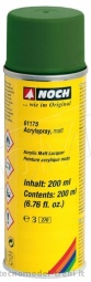 Noch 61175 Spray acrilico, opaco, colore verde scuro, 200 ml