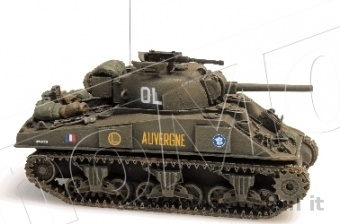 REE Modeles AB-009 HERMAN M4A2 'AUVERGNE' GTL (Groupement Tactique Langlade) 388.009