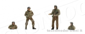 REE Modeles AB-014 AB-014 Equipage de Char 2 DB - 4 soldats 387.92