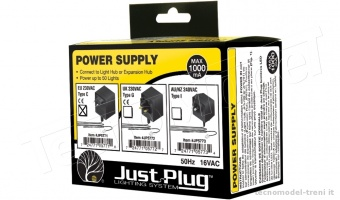 Woodland Scenics JP5771 Trasformatore Power supply 230 V, 50 Hz - Just Plug™ Lighting System