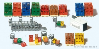 Preiser 17124 Carrelli e accessori supermarket