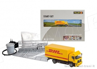 Faller 161607 Start set Car System con autocarro DHL