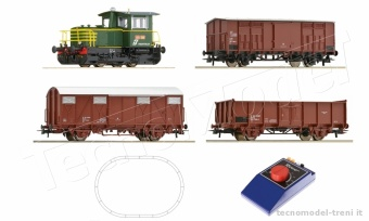 Roco 51158 Start set FS locomotiva diesel D.214.4046