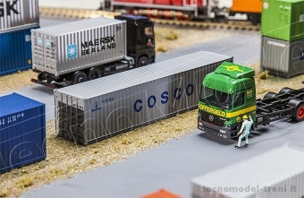 Faller 180845 Container 40' 'COSCO'