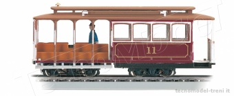 Bachmann 60530 Tram Red cable car S.Francisco