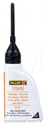 Faller 170490 Colla per plastica SuperExpert con applicatore, 25 ml