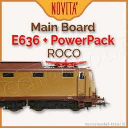 Almrose 4-30104PP/S Main board per ROCO E636 con connettore decoder MTC21, con Power Pack e altoparlante integrato