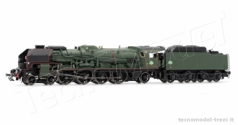 Jouef HJ2243 SNCF locomotiva a vapore 241 P 17 tender 34 P 32 ep.III DCC Sound