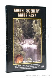 Woodland Scenics R973 Model Scenery Made Easy - DVD