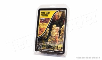 Woodland Scenics F1135 Fine-Leaf Foliage™ Fall Mix