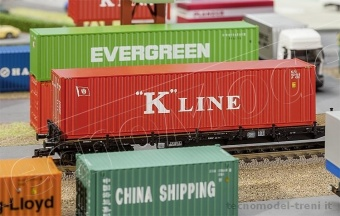 Faller 180848 Container 40' 'K-Line'
