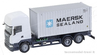 Faller 161598 Car System Scania R con container Maersk (HERPA)