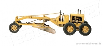 Woodland Scenics D234 Motor Grader HO Scale Kit - Spianatrice stradale