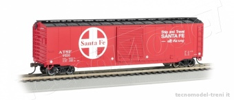 Bachmann 19406 Santa Fe - 50' Sliding Door Box Car (HO Scale)