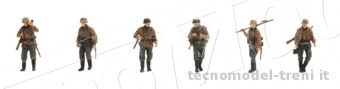 Artitec 387.83-C1 Set 1 Deutsche Inf. Camo (6 Fig.)