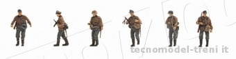 Artitec 387.84-C1 Set 2 Deutsche Inf. Camo (6 Fig.)