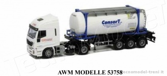 Awm 53758 Iveco Stralis Euro 6 HiWay 'VDS' con container ConserT