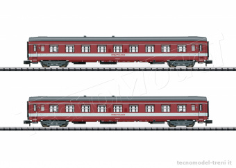 Trix T15951 SNCF 'Capitol' set due carrozze ep.IV - Minitrix scala N 1/160