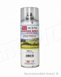 Peco PSG-11 Colla spray specifica per fissare erba statica con l'applicatore elettrostatico art. PSG-1 o simili