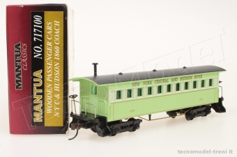 Model Power 717100 Carrozza NYC & Hudson 1860 (Mantua Classic)