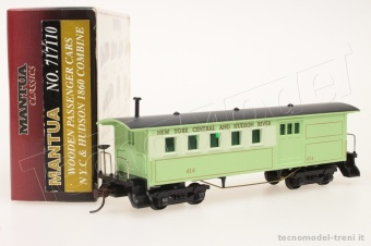 Model Power 7117110 Carrozza - bagagliaio NYC & Hudson 1860 (Mantua Classic)