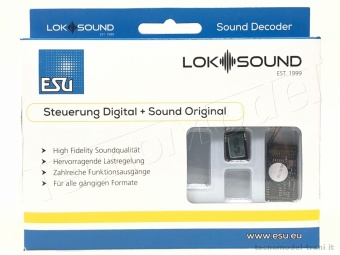 Esu Electronic 58412 Decoder DCC LokSound 5 PluX22